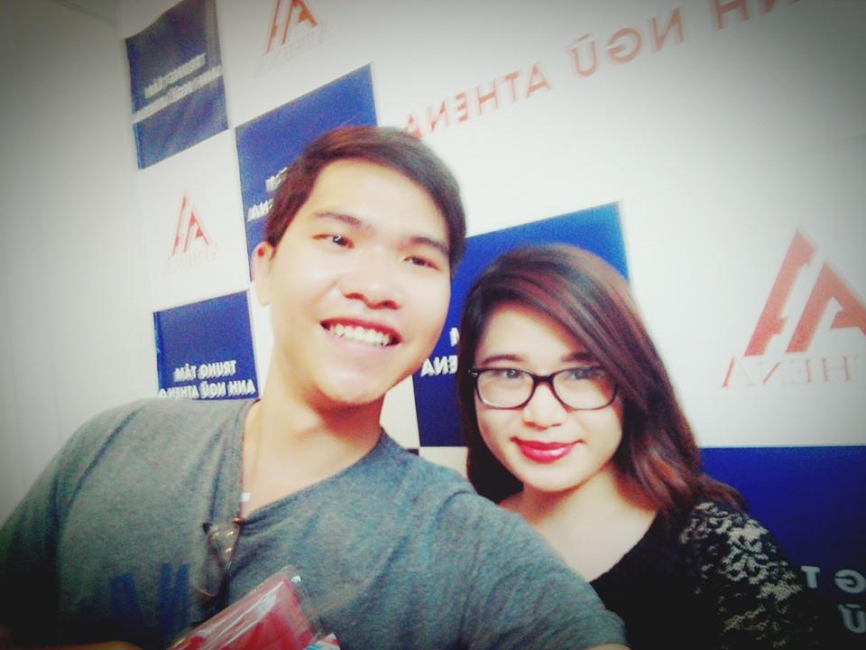 Tuấn và cô Vân Anh