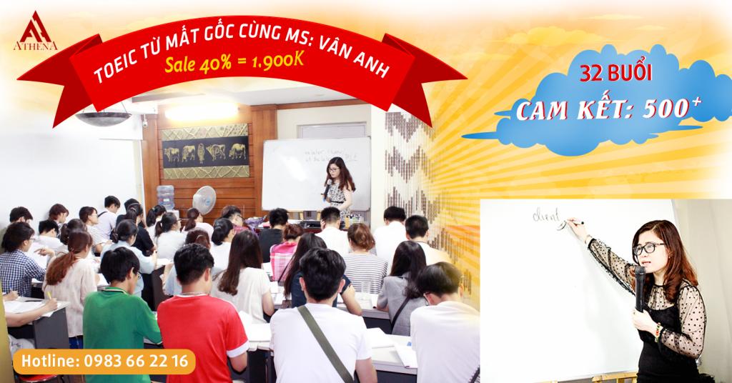 Học tiếng Anh Toeic, Ms Vân Anh