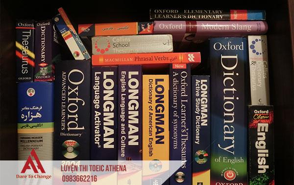 lựa chọn từ điển tiếng anh - anh ngữ athena