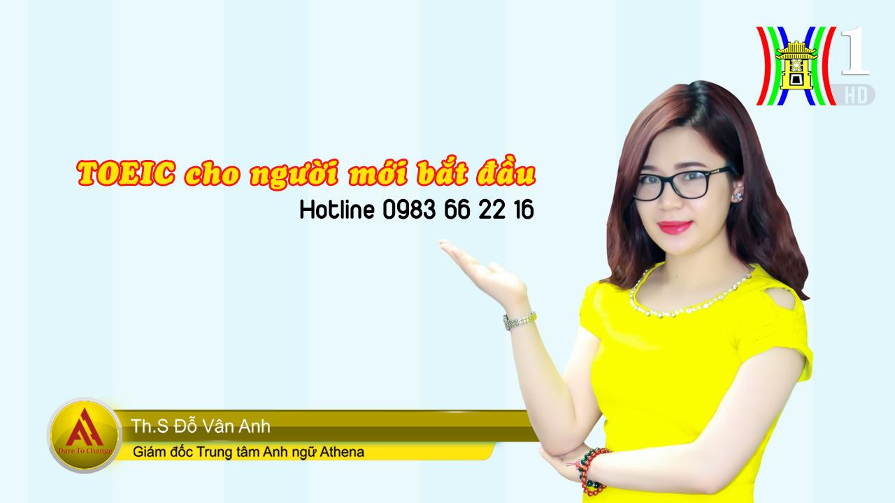Ms Vân Anh Athena trên HNTV thumb