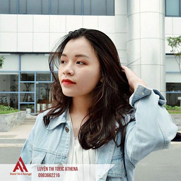 hình ảnh học viên Toeic Trần Phương Dung