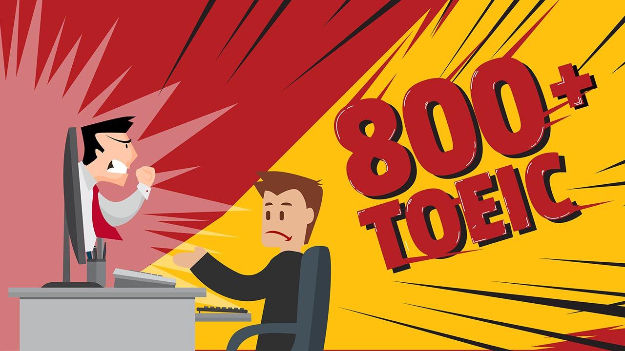 khóa học toeic chinh phục điểm số 800+