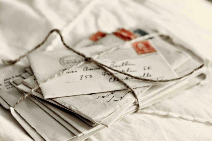 Foto cartas. Alicia