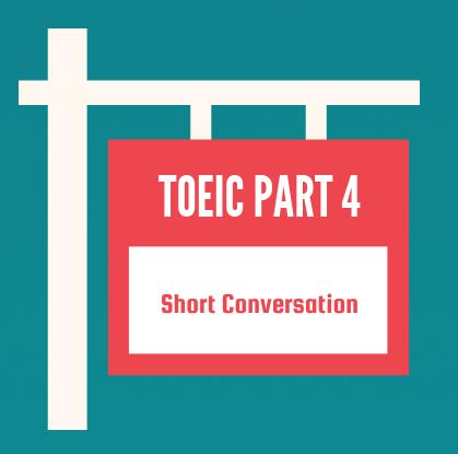 toeic part 4