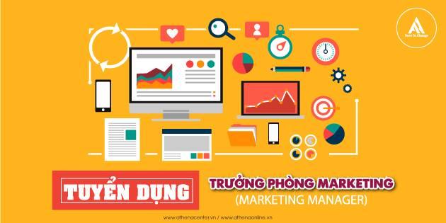 tuyển dụng trưởng phòng marketing