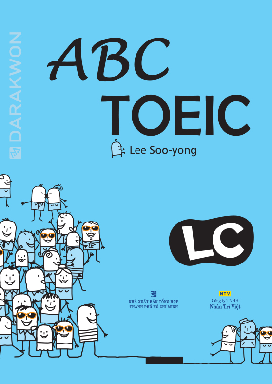 sách ABC TOEIC Listening Comprehension - anh ngữ athena