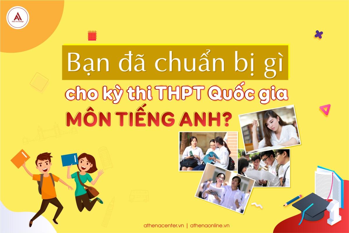 kỳ thi THPT quốc gia môn tiếng anh - anh ngữ Athena