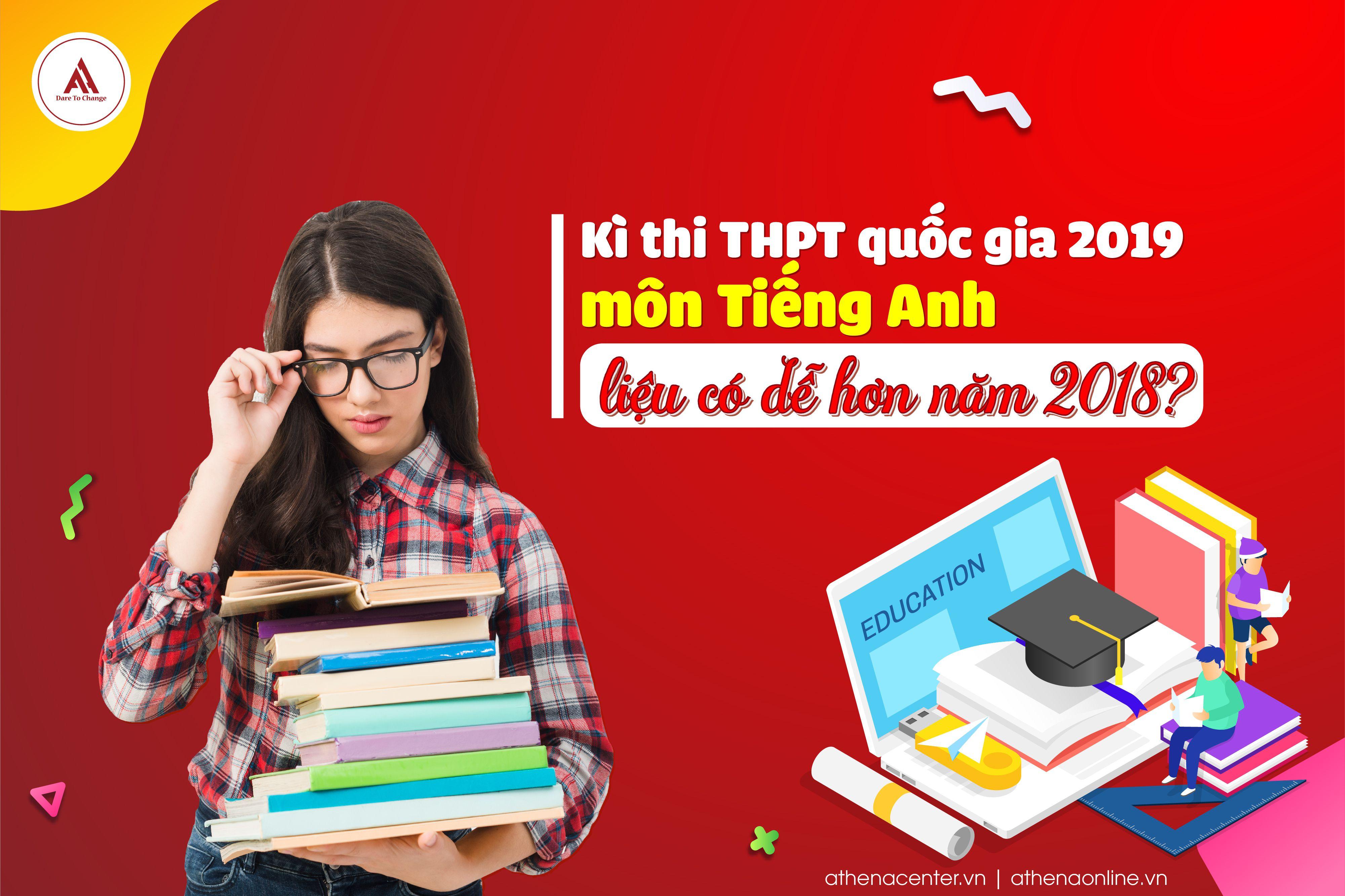 kỳ thi thpt quốc gia 2019 môn tiếng anh - anh ngữ athena